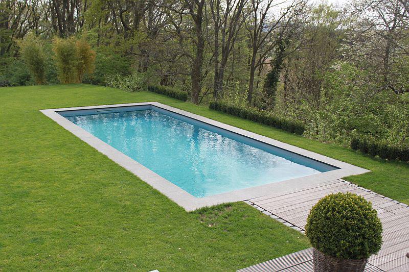 Referenzbild eines Swimmingpools von Pro Pool im Garten