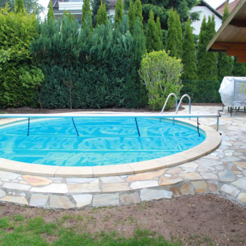 Referenzbild von einem rundem Swimmingpool von Pro Pool